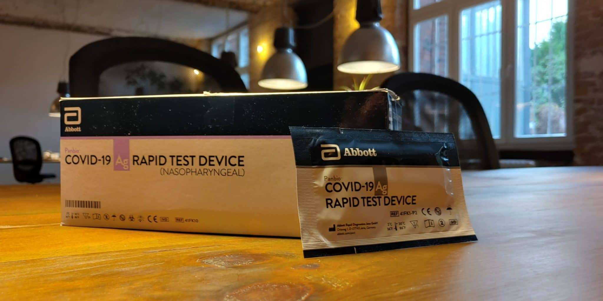 covid 19 schnell test